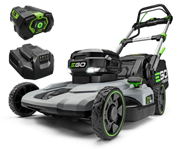 56 Volt 21'' SELF-PROPELLED Lawn Mower Package (EGO LM2102SP)
